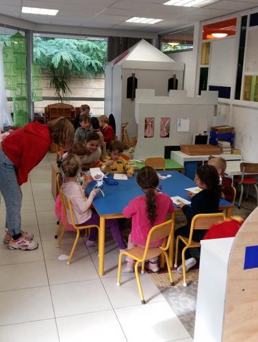 Bezoek kleuterschool